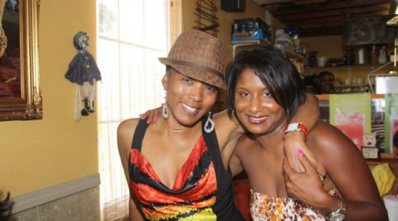 In New Orleans with actress Angela Bassett