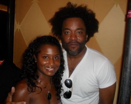 At the American Black Film Festival 2007