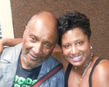 In the WBOK 1230 AM studio with comedian Paul Mooney