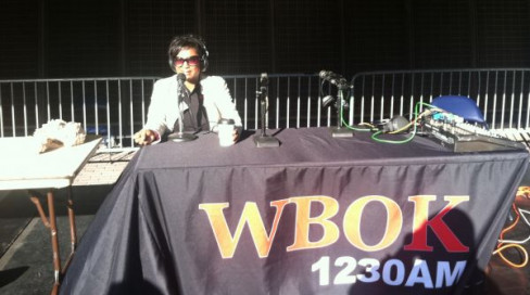 Broadcasting live from the Mercedes Benz Superdome